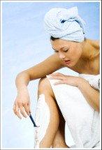 female shaving tips and information